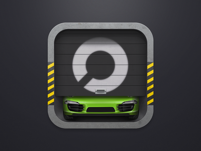Car Storage iOS Icon
