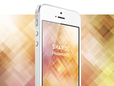 Download Shards Fragments iPhone 5 Wallpaper