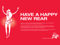 Virgin Active - Happy New Rear Campaign