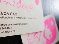 Onedove Business Cards