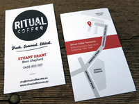 Ritual Coffee Business Cards