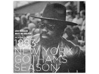 1883 New York Gothams Season