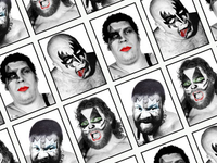 Kiss WWF spoof