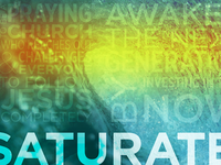Saturate student newsletter graphic