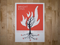 Bright Eyes Poster Printed