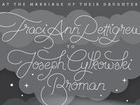 Traci & Joe Invitation