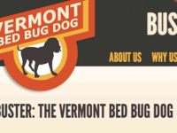 Buster the Bed Bug Dog
