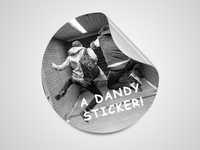 Dandy Sticker
