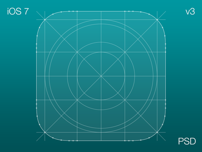 Download iOS Icon Grid v 3