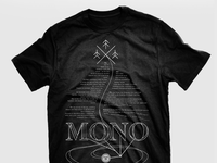 "MONO - T-shirt ""Follow the map"""