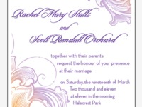 Final Wedding Invitation