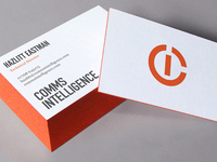 Business cards for Comms Intelligence
