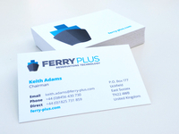 Ferry Plus Business Cards