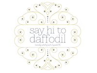 Logo in Progress - Say Hi To Daffodil