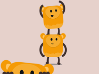 Yellow Teddys