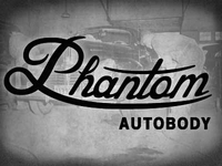Phantom Autobody Branding