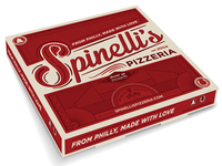 Spinelli's Pizza Packaging