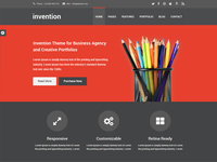 Invention HTML5 Black