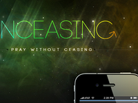 Unceasing Prayer App