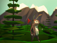 Low-Poly Walkabout