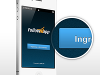 followapp - UI design