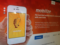 Mobilize website concept