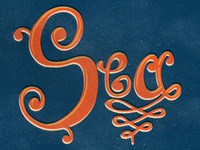 Sea Hand Drawn Type