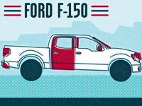 Ford F150 Illustration