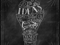 Ideas Come From Curiosity