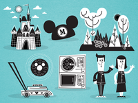 Illustrations For Disney