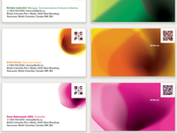 BCFM business cards
