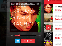Updated Music Player Concept