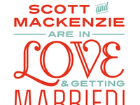 Scott and Mackenzie are in love
