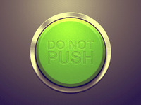 Do Not Push Button