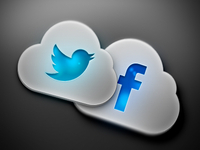 Social Cloud Icons