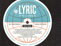 Instagram Lyric Type Contest