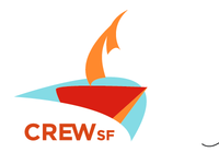 mock CREW event logo