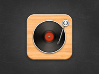 Turntable icon :D