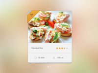 Recipewidget