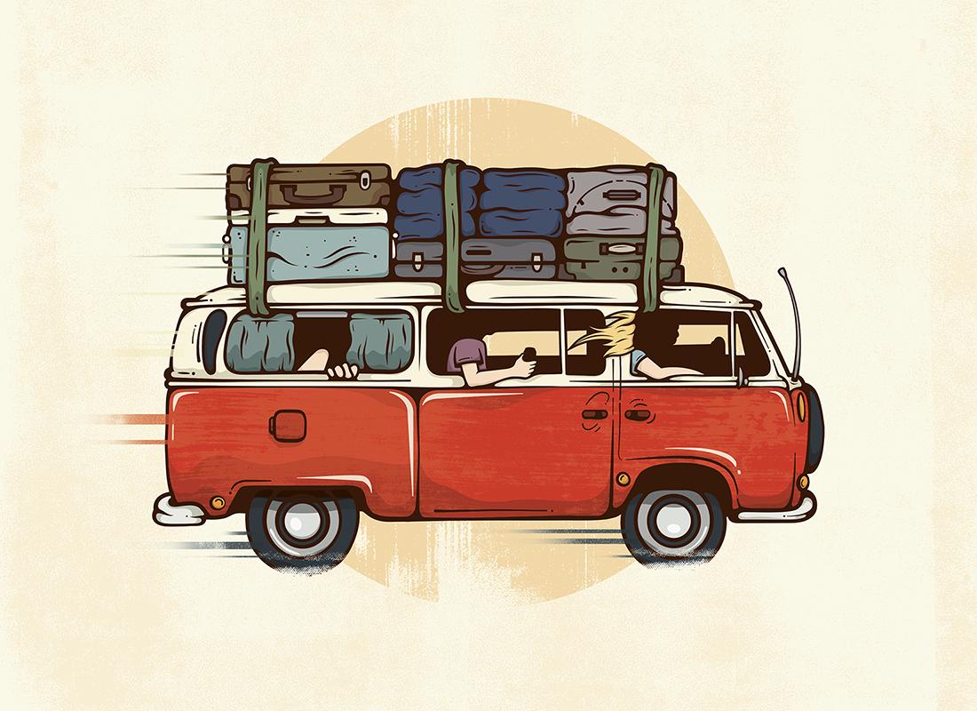 Road Trip. av Corey Reifinger