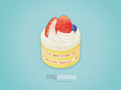 my menu - Strawberry Cake