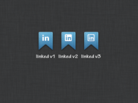 Ribbon Icons 1 - Linkedin