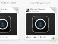 Dribbble Player Cards