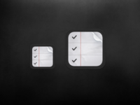 iOS Reminders Icons