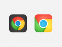 iOS Chrome Icon