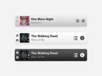 iTunes 11 - Mini Player