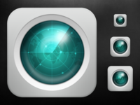 iOS Radar Icon - Scaled