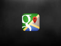 iOS Google Maps Icon
