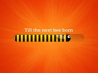 Bee progress bar
