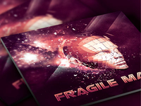 Fragile Man CD Artwork Template
